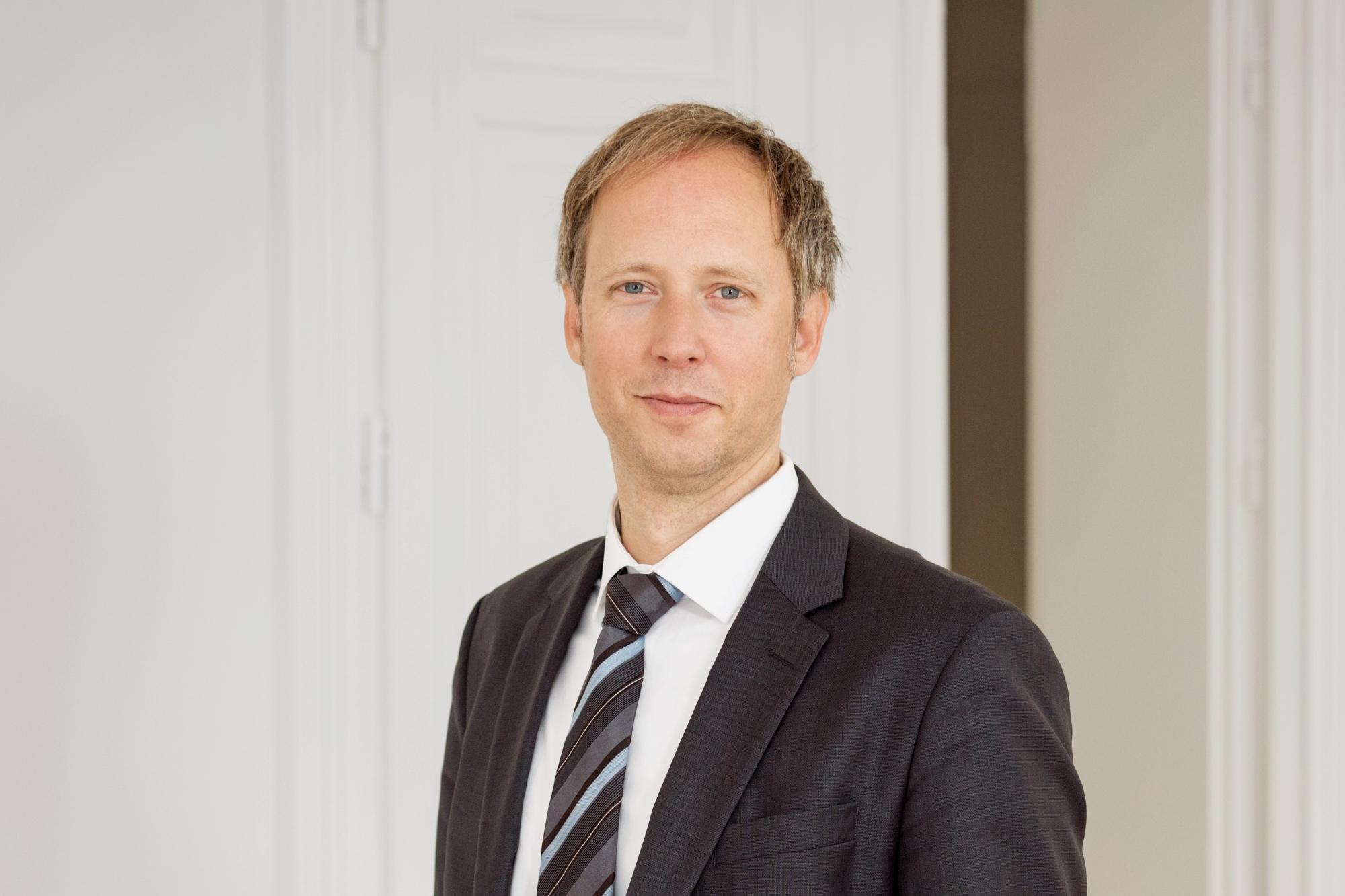 Porträtbild von Dr. Mark-Steffen Buchele, Geschäftsführer buchele cc